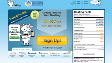 Photo of FatCow.com Review ! a full service web hosting company.