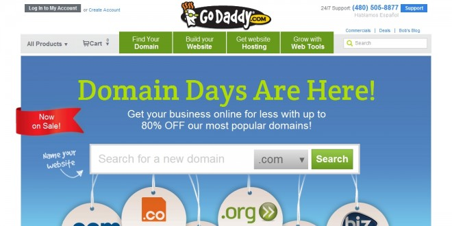 Godaddy existing customer coupons