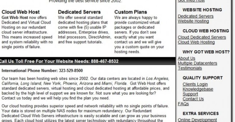 Photo of GotWebHost Review of its Web Hosting and SEO Services