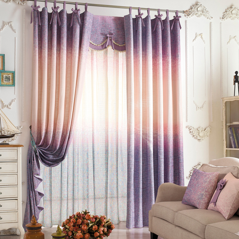 High-quality-linen-cotton-curtains-with-gradient-colors-can-enjoy-you-Jd1276624449-1 20+ Hottest Curtain Designs for 2019