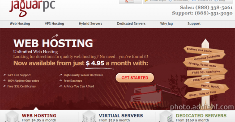 Photo of JaguarPC Hosting Reviews (Support, Uptime, Coupon Codes, Recommendations, …)