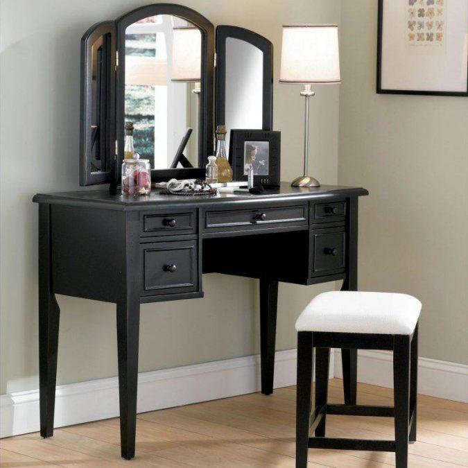 Lavish-black-vanity-powell-boulevard-antique-black-675x675 15 Ideas to DIY Your Stylish Bedroom & Bathroom Vanities