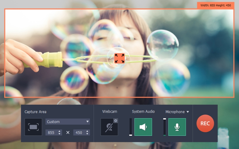 Movavi-Screen-Capture-Studio-for-Mac-3. Capture, Edit & Share Videos with Movavi's iOS Screen Recorder