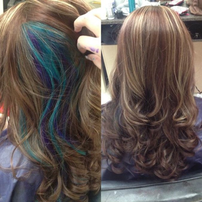Multi-colored-hairstyle-675x675 217 Years of Hairstyles Development .. from the 19th Century till Today..