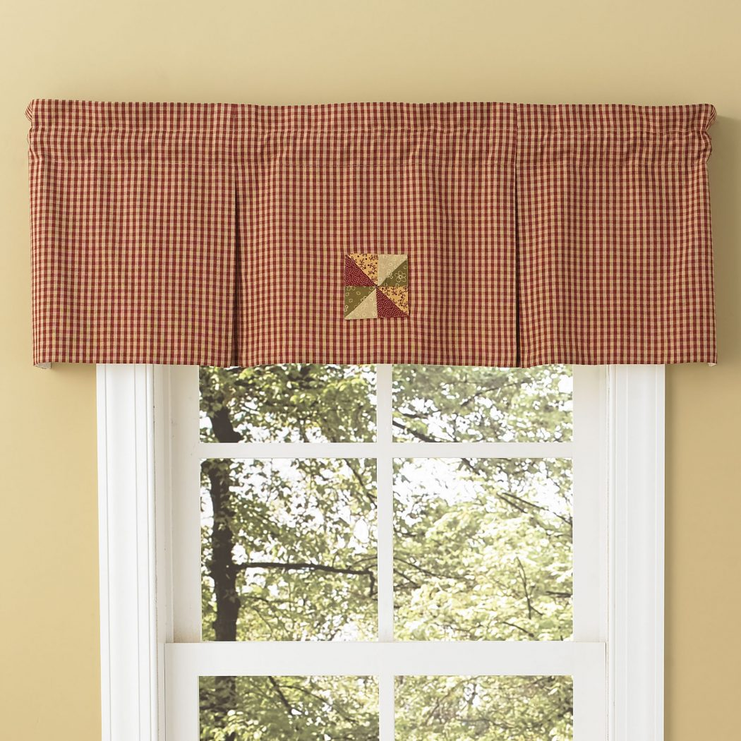 PKD-444-477-Mill-Village-Pleated-Valance-LRG 20+ Hottest Curtain Designs for 2019