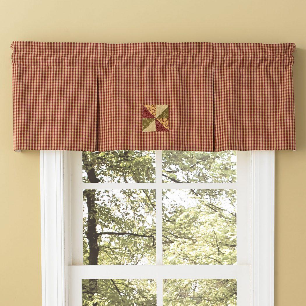 PKD-444-477-Mill-Village-Pleated-Valance-LRG 20+ Hottest Curtain Design Ideas for 2020
