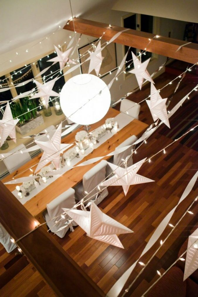 Paper-light-strings-675x1013 25+ New Year Eve Decoration Ideas for a Blasting Party