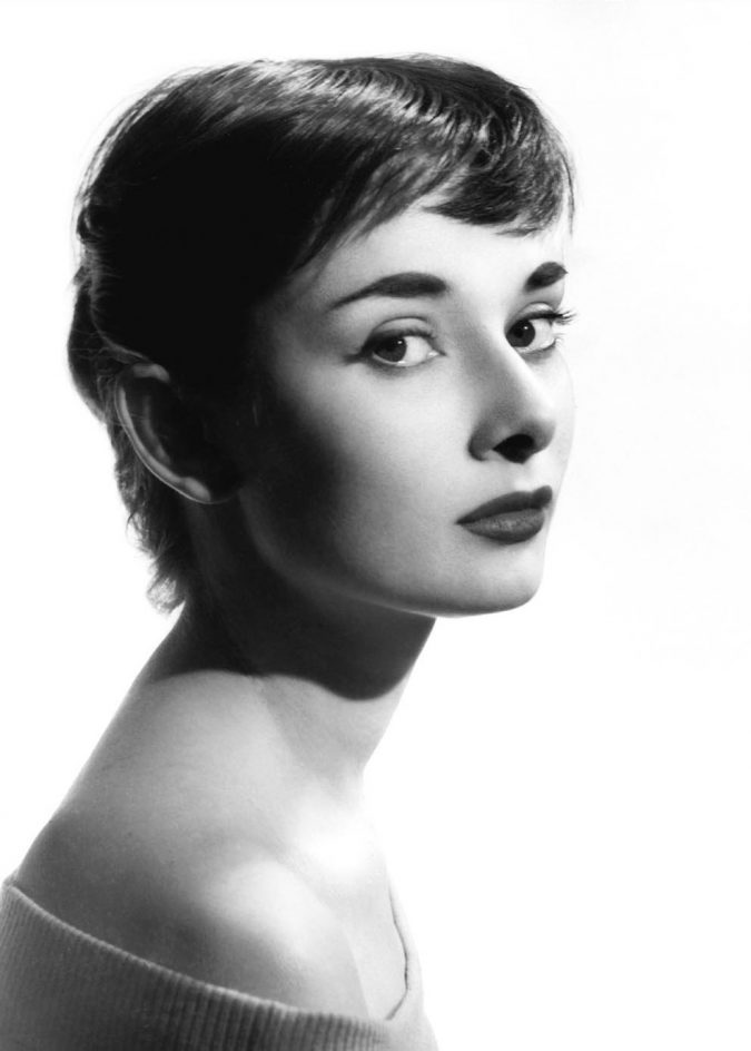 Pixie-haircut-Audrey-Hepburn-1-675x944 Hairstyles from the 19th Century till Today.. 217 Years of Diversity