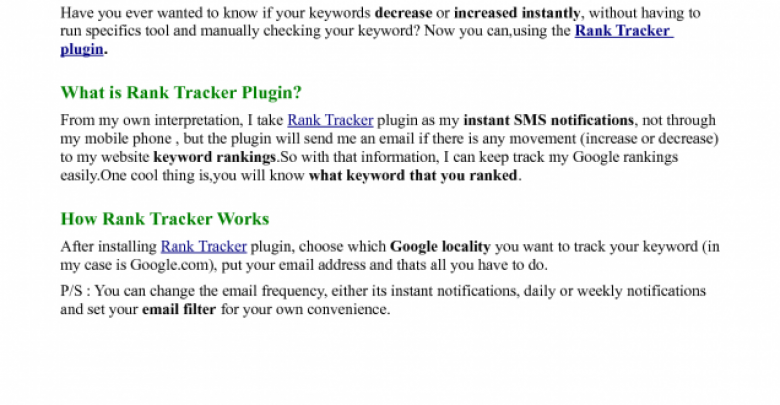 Photo of Rank Tracker Plugin Review – 7 Burning Questions Answered