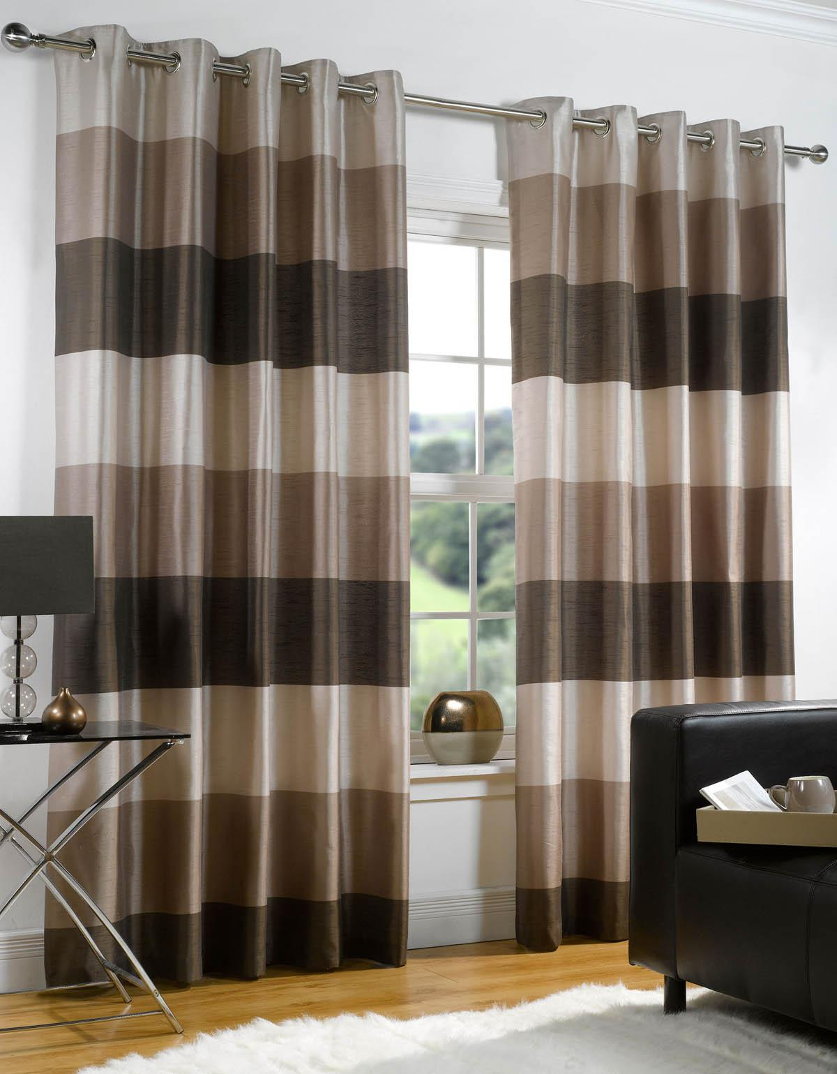 Rio-Chocolate 20 Hottest Curtain Designs for 2017