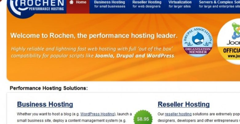 Photo of Rochen Hosting Reviews (Coupon Codes, Uptime Review, Support, Disadvantages,…)