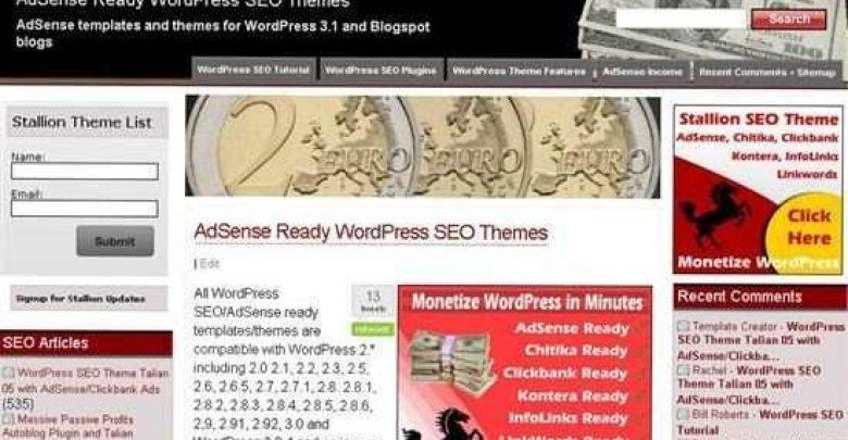 Photo of Stallion Wordpress SEO Theme Review