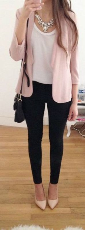 T-shirts-for-work-1-1 87+ Spring & Summer Office Outfit Ideas for Business Ladies 2018