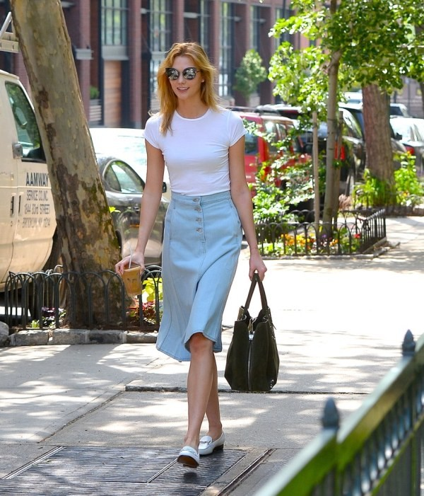 T-shirts-for-work-11-1 87+ Spring & Summer Office Outfit Ideas for Business Ladies 2018