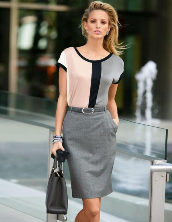 T-shirts-for-work-12-1 87+ Spring & Summer Office Outfit Ideas for Business Ladies 2018