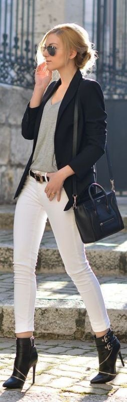 T-shirts-for-work-14 87+ Elegant Office Outfit Ideas for Business Ladies in 2021