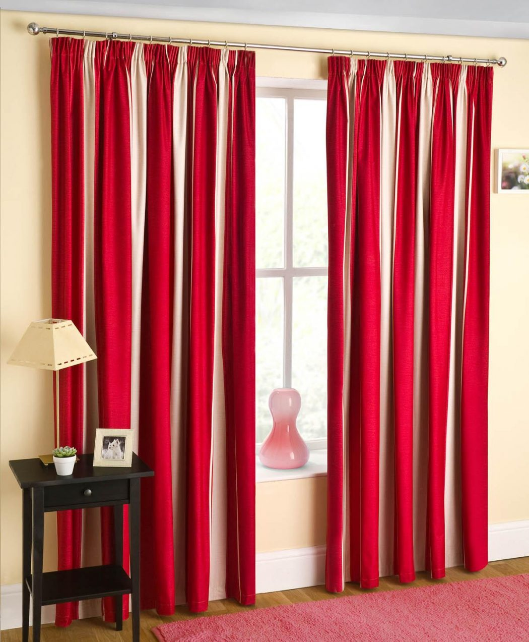 TWILIGHT-RED 20+ Hottest Curtain Designs for 2018