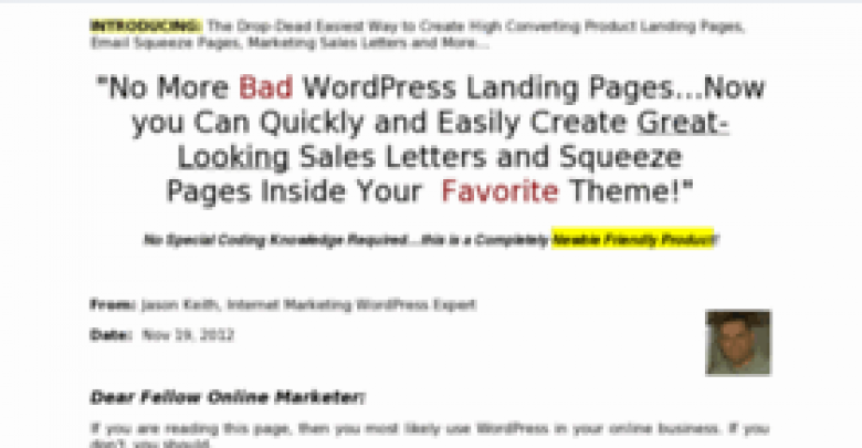 Photo of WP Landing Pages Review – Will You Trust It!