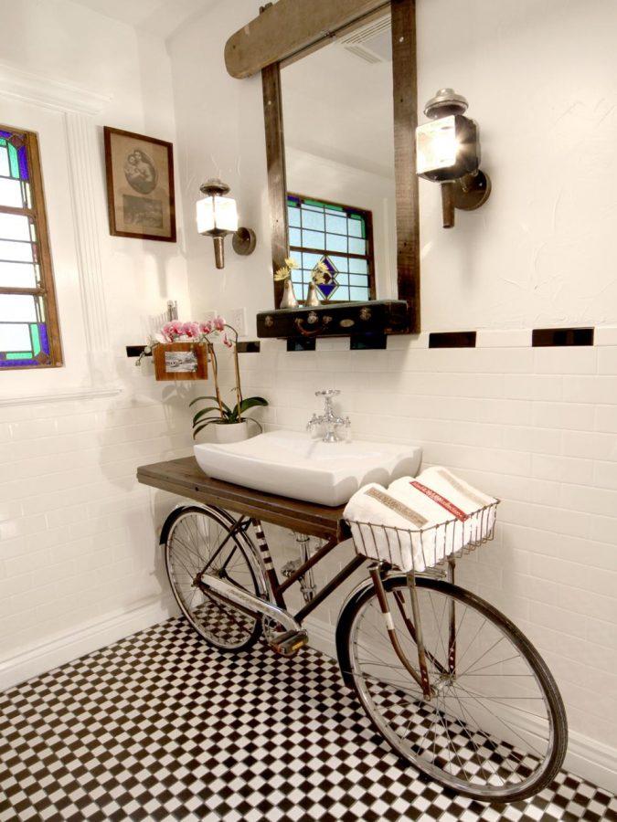 Washup-on-Wheels-675x900 15 Ideas to DIY Your Stylish Bedroom & Bathroom Vanities