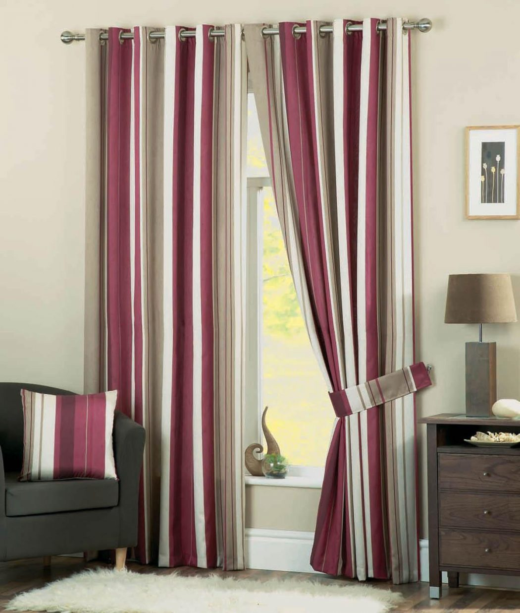 Whitworth-Claret 20 Hottest Curtain Designs for 2017