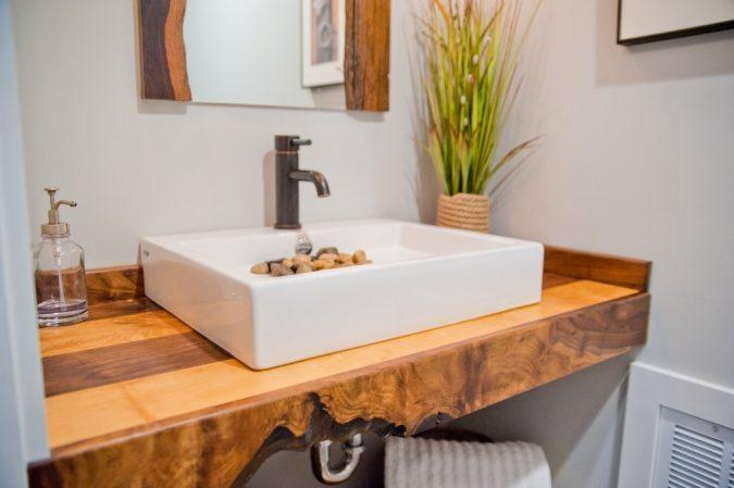 Wood-butcher-block-countertop-Design-Build-Pros-4-675x449 15 Ideas to DIY Your Stylish Bedroom & Bathroom Vanities