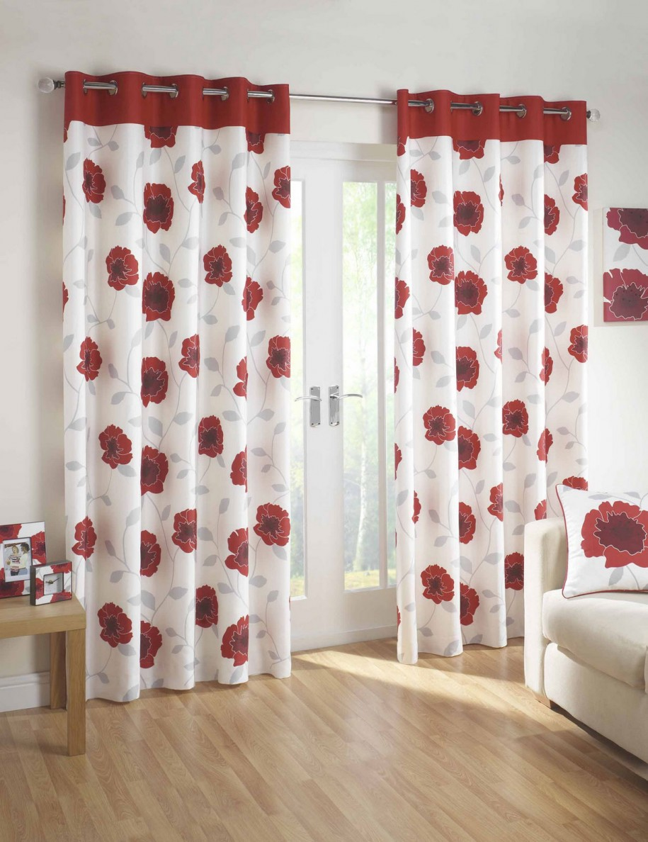 amazing-of-beautiful-red-and-grey-kitchen-curtains-red-kitchen-curtains-stylishly-lovely-red-kitchen-curtains-sets-beautiful-and-lovely-red-kitchen-curtains-ideas-kitchen 20+ Hottest Curtain Design Ideas for 2020