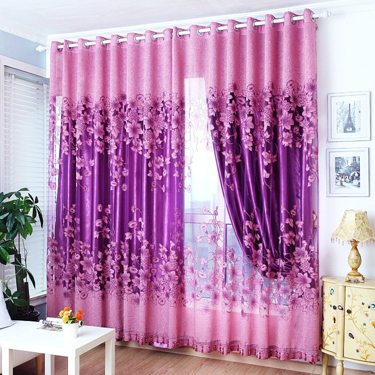 american-wedding-room-warm-sun-shade-cloth-gauze-curtains-finished-bedroom-living-room-floor-to-ceiling-windows-cloth-pink-room-curtains-blinds-587642_837 20+ Hottest Curtain Designs for 2018