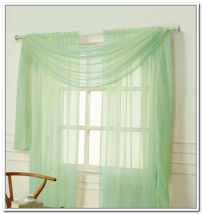 awesome-mint-green-curtains 20+ Hottest Curtain Designs for 2018