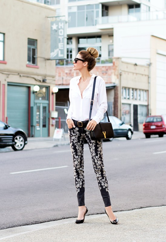 black-and-white-color-combination-27-1 87+ Elegant Office Outfit Ideas for Business Ladies in 2021