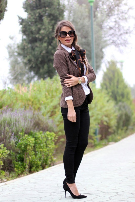 blazers-1-2 83+ Fall & Winter Office Outfit Ideas for Business Ladies 2020