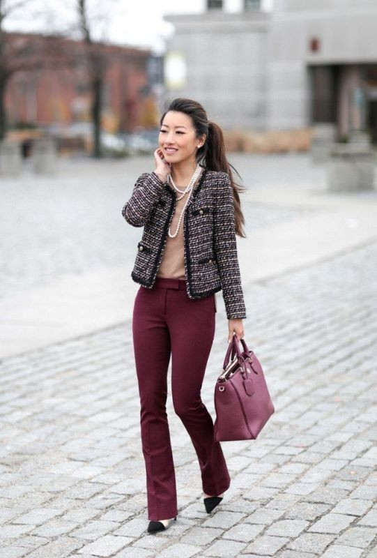 blazers-7-2 83+ Fall & Winter Office Outfit Ideas for Business Ladies 2020
