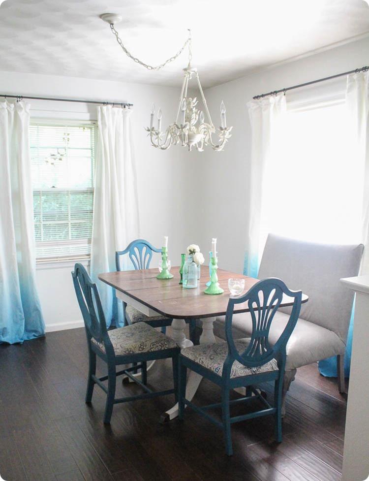 blue-dip-dye-curtains_thumb 20+ Hottest Curtain Design Ideas for 2020
