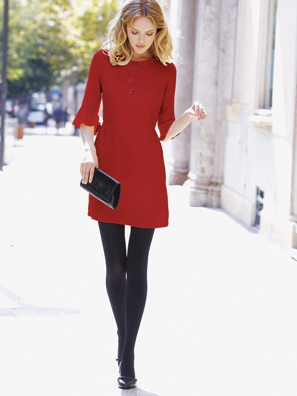 boots-and-tights-11-2 83+ Fall & Winter Office Outfit Ideas for Business Ladies 2020