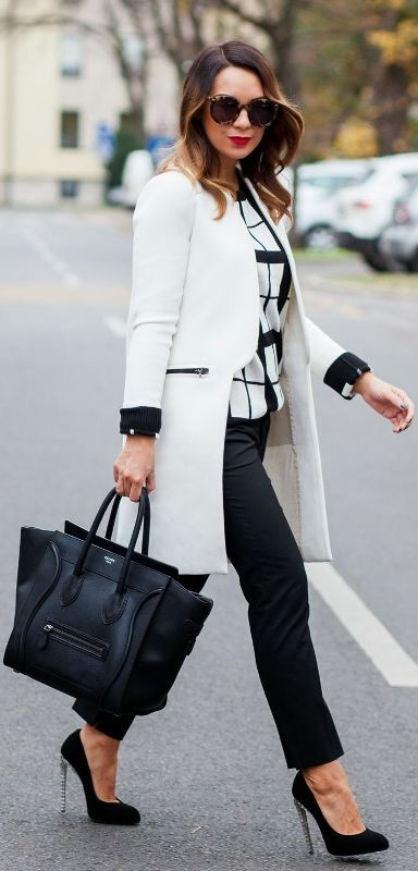 coats-and-jackets-13-2 83+ Fall & Winter Office Outfit Ideas for Business Ladies 2020