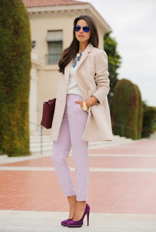 coats-and-jackets-4-2 83+ Fall & Winter Office Outfit Ideas for Business Ladies 2018