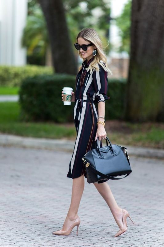 dresses-for-work-13-1 87+ Elegant Office Outfit Ideas for Business Ladies in 2020