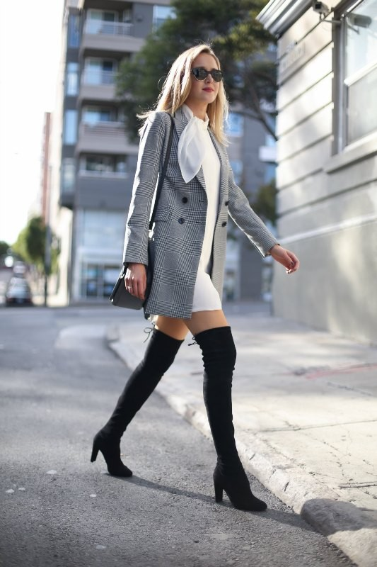 dresses-for-work-14-1 87+ Spring and Summer Office Outfit Ideas for Business Ladies 2019