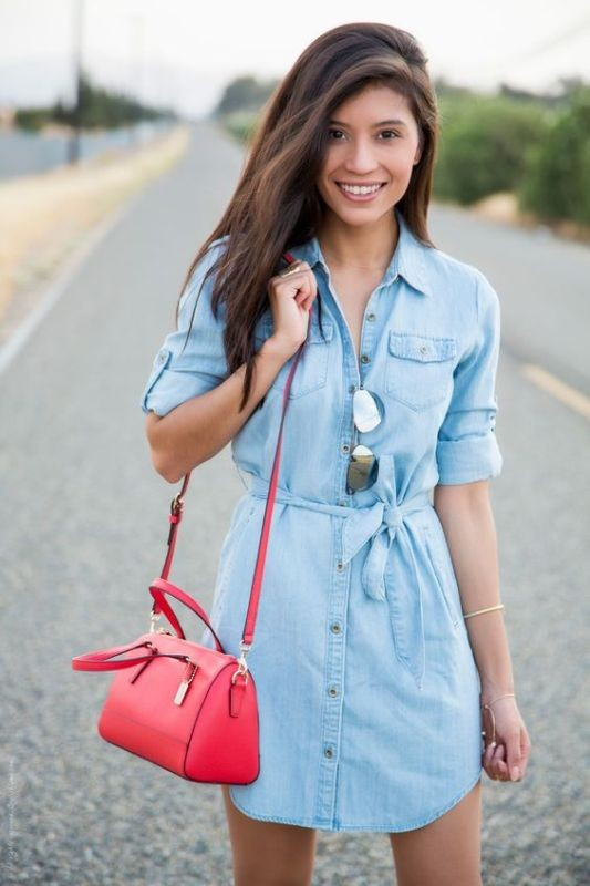 dresses-for-work-15-1 87+ Spring & Summer Office Outfit Ideas for Business Ladies 2018