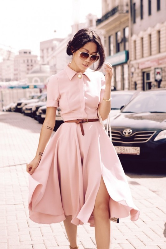 dresses-for-work-16-1 87+ Elegant Office Outfit Ideas for Business Ladies in 2021