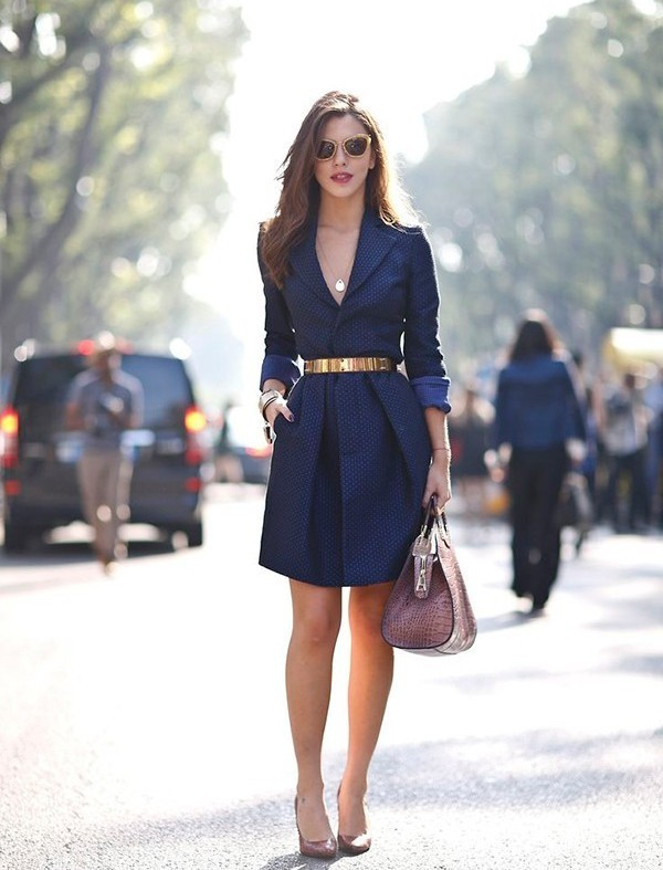 dresses-for-work-22-1 87+ Spring and Summer Office Outfit Ideas for Business Ladies 2019