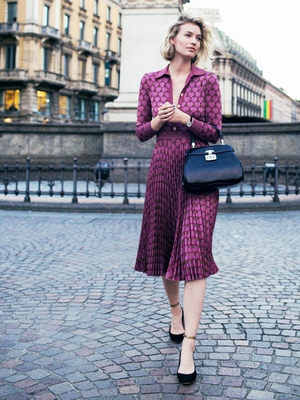 dresses-for-work-24-1 87+ Elegant Office Outfit Ideas for Business Ladies in 2021
