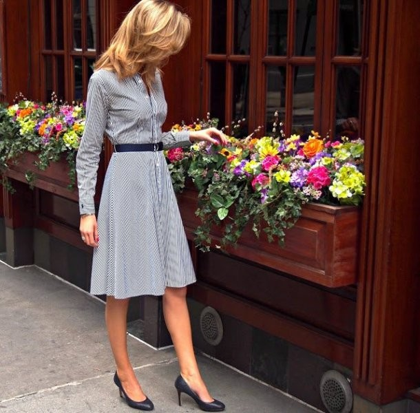 dresses-for-work-25-1 87+ Spring and Summer Office Outfit Ideas for Business Ladies 2019