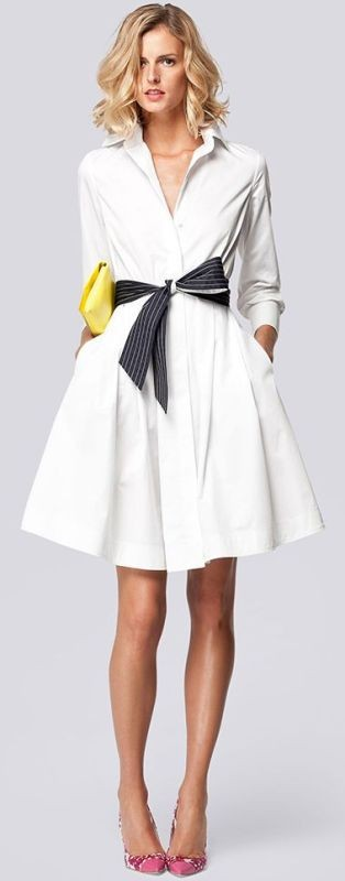 dresses-for-work-4-1 87+ Elegant Office Outfit Ideas for Business Ladies in 2021