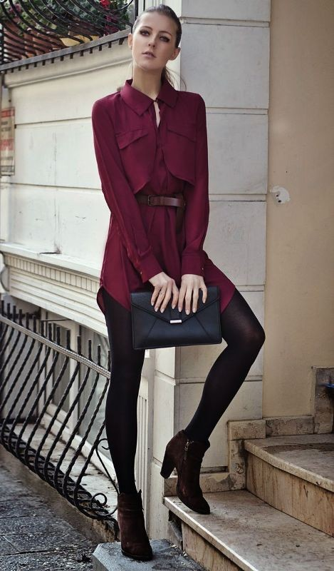 dresses-for-work-9-1 87+ Elegant Office Outfit Ideas for Business Ladies in 2021