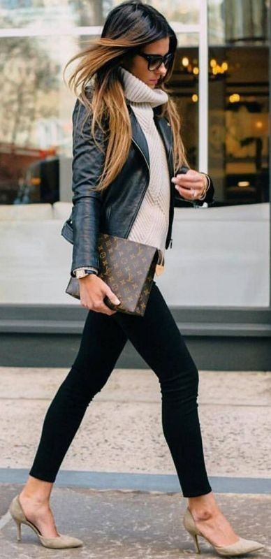 fall-and-winter-office-outfits-10-2 83+ Fall & Winter Office Outfit Ideas for Business Ladies 2020