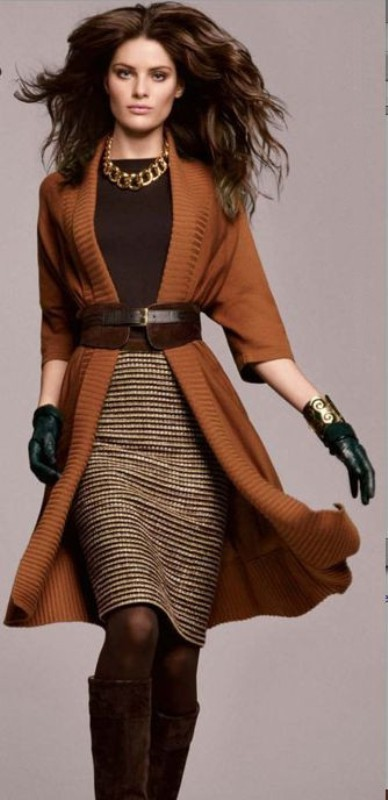 fall-and-winter-office-outfits-11-2 83+ Fall & Winter Office Outfit Ideas for Business Ladies 2020