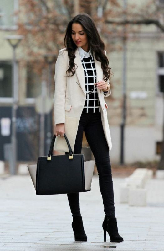 fall-and-winter-office-outfits-17-2 83+ Fall & Winter Office Outfit Ideas for Business Ladies 2020
