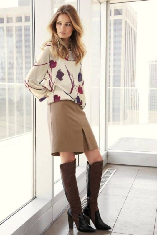 fall-and-winter-office-outfits-20-2 83+ Fall & Winter Office Outfit Ideas for Business Ladies 2018
