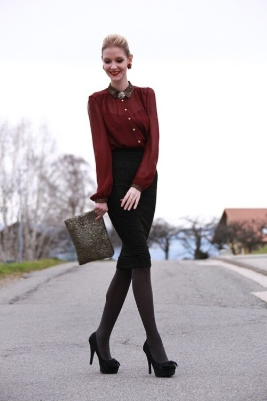 fall-and-winter-office-outfits-22-2 83+ Fall & Winter Office Outfit Ideas for Business Ladies 2020