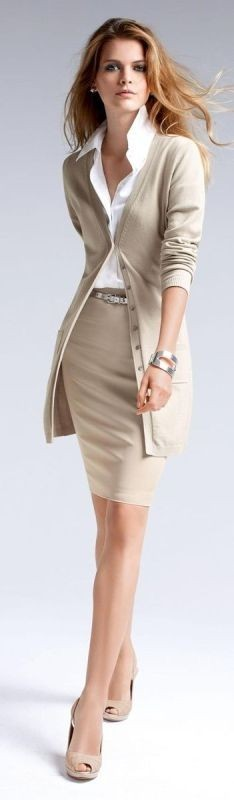 fall-and-winter-office-outfits-26 83+ Fall & Winter Office Outfit Ideas for Business Ladies 2020